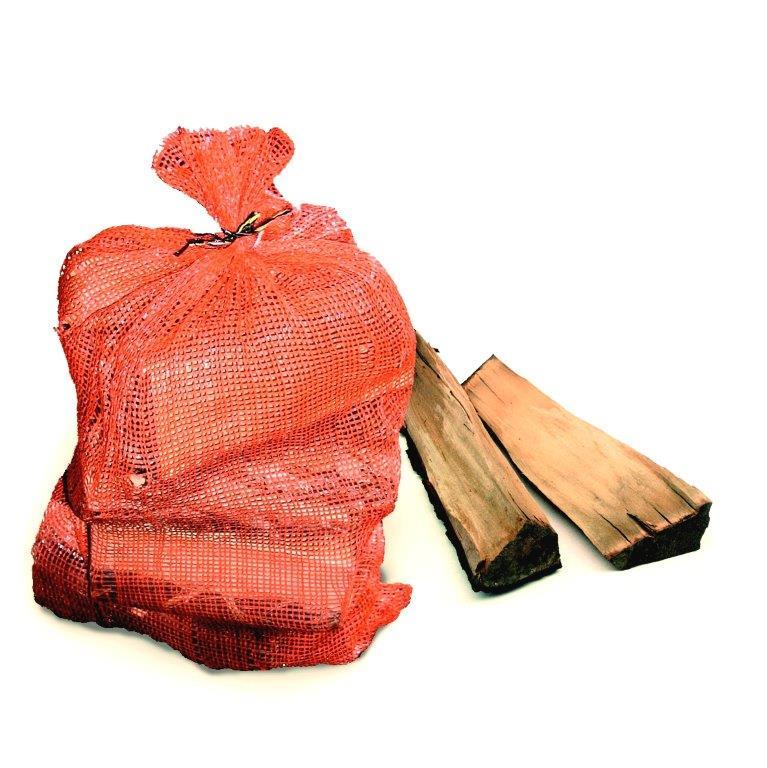 Brennholz und Kaminholz (Sackware)